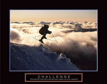 Challenge See the Poster See it Framed